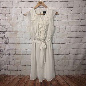 SOHO Apparel Limited Dress, Tie Waist, Keyhole, 8